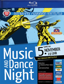"""Music & Dance Night 2011"" Eisenbahnermusikverein Knittelfeld"